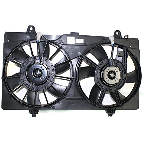 Nissan Fan Radiator Cooling Sentra - Radiator Fan Assembly for Nissan Sentra 07-12 Dual Fan Base/S/SL Models