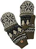Muk Luks's's Nordic Flip Mitten, Neutral, One Size