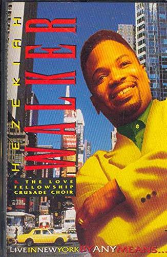 HEZEKIAH WALKER: Live in New York By Any Means. Cassette Tape