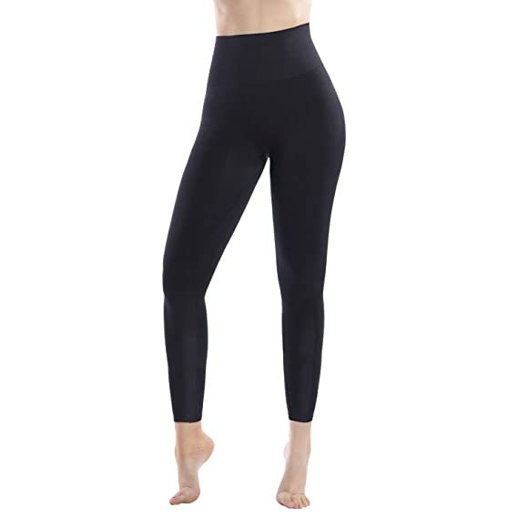 Buy Md Women S High Waist Target Firm Control Shapewear Compression Slimming Leggings Black Small At Amazon In