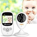 Cheap Fitnate Video Baby Monitor with 2.4″ LCD Display, Digital Camera, Infrared Night Vision Audio, Two Way Talk Back System, Temperature Monitoring, 8 Lullabies and Long Range