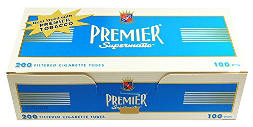 (5) Five Boxes of Premier Supermatic Light - 100mm Cigarette ()