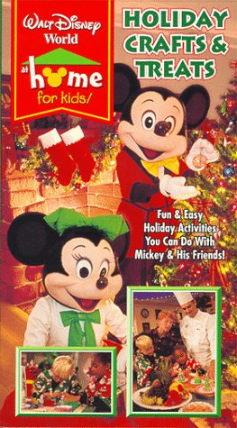 Amazon Com Walt Disney World At Home For Kids Holiday Crafts And