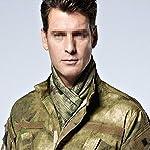 YAOBAO Filet De Camouflage, Filet Tactique en Filet Camo Écharpe Sniper Voile, Camouflez Votre Cou, Votre Visage Et… 12