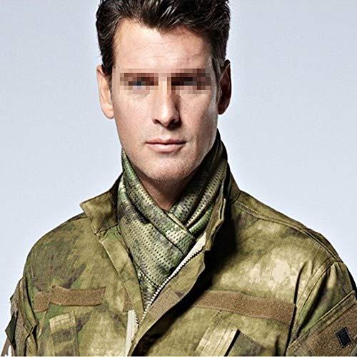 YAOBAO Filet De Camouflage, Filet Tactique en Filet Camo Écharpe Sniper Voile, Camouflez Votre Cou, Votre Visage Et… 5