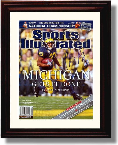 Framed Michigan Wolverines -
