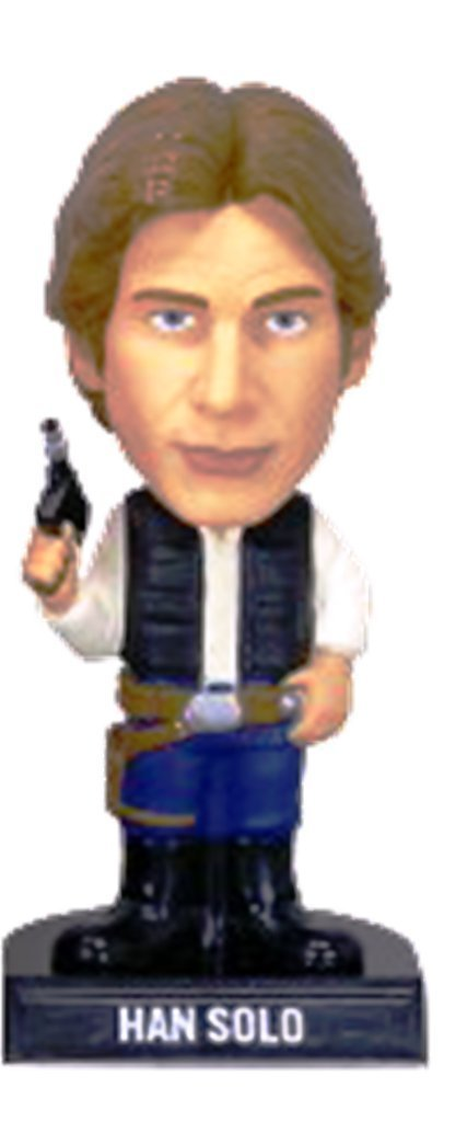Star Wars Han Solo Wacky Wobbler Figure