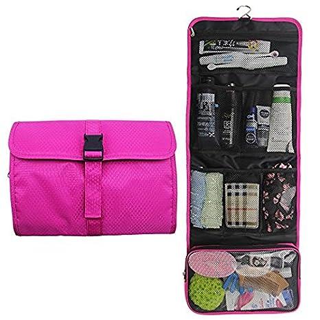 Amazon.com: Bolsa de aseo para colgar de viaje, organizador ...