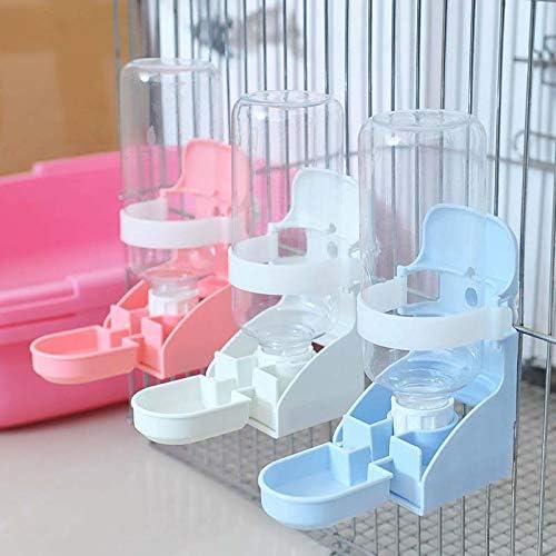 para colgar en la jaula de mascotas Comedero de agua para conejo Raword dispensador de agua suspendido 500 ml