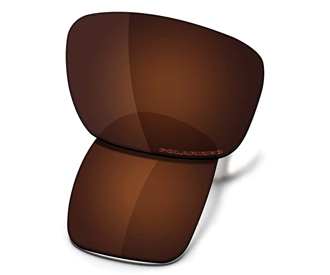 73a59a7d62992 Saucer Premium Replacement Lenses for Oakley Scalpel Sunglasses High  Defense - Amber Brown Polarized
