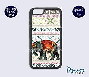 iPhone 6 Plus Case - Aztec Elephant Art iPhone Cover by Maris's Diary