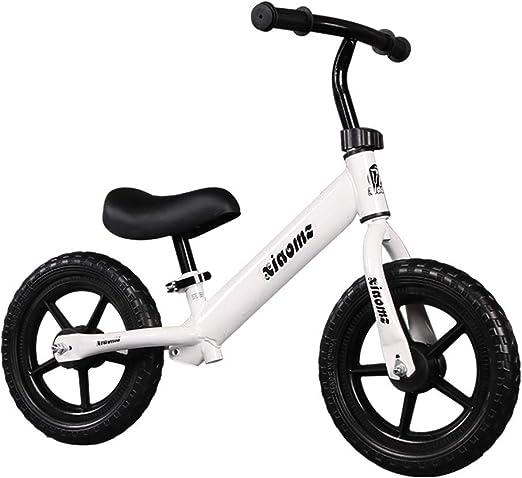 ZGYQGOO Bicicleta equilibrada de 12