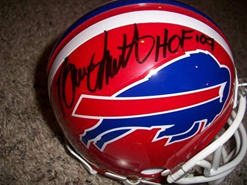 Bruce Smith Bills Signed (Buffalo Bills Bruce Smith Autographed Signed Mini Helmet Auto Memorabilia PSA/DNA)
