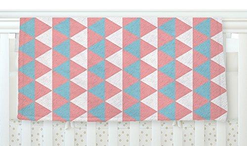 KESS InHouse KESS Original Be Still Blue Pink Fleece Baby Blanket 40 x 30 [並行輸入品]   B077ZVQLQ1