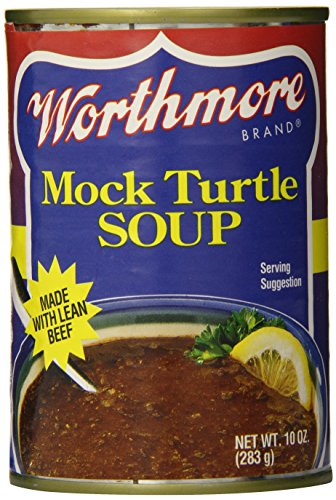 - Worthmore Mock Turtle Soup, 10-Ounce (Pack of 12)
