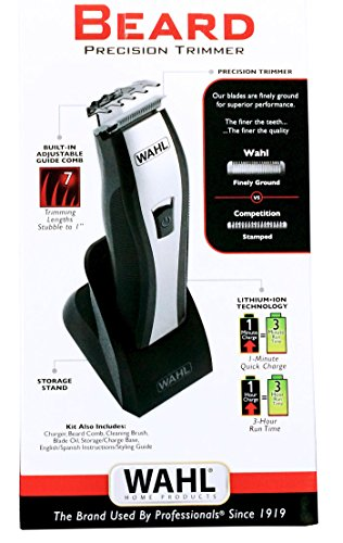 wahl lithium ion beard stubble trimmer 9867 mypointsaver. Black Bedroom Furniture Sets. Home Design Ideas