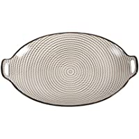 Round Double Ear Style Dinner Plate