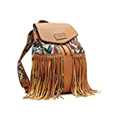 Sugar Handbags Ladies Backpack Open Beige