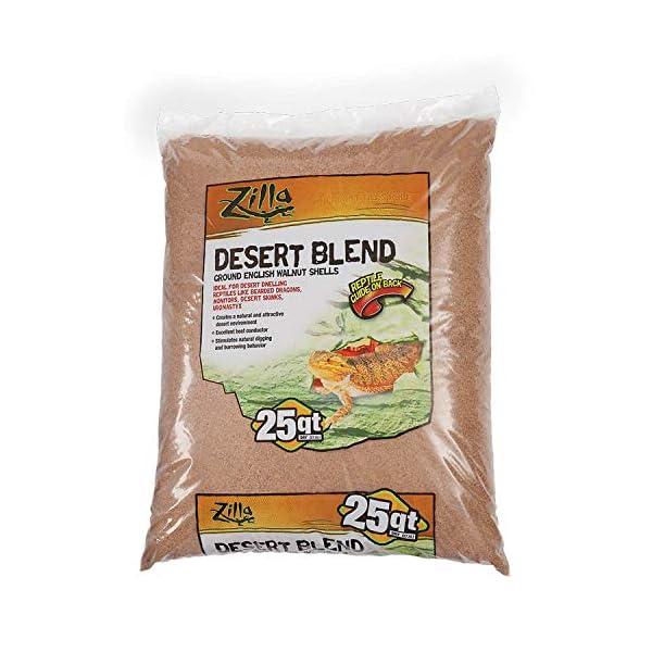 Zilla Ground English Walnut Shells Desert Blend 1