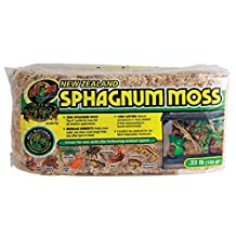 Zoo Med Laboratories SZMCF25 New Zealand Sphagnum Moss, 0.33-Pound