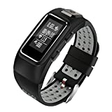 Cheap Diggro DB-10 Smart Bracelet Build-in GPS Tracker 20 days Standby Time Four Sport Modes Heart Rate Monitor IP68 Waterproof Bluetooth 4.0 Calling Message Reminder for Android & iOS(Black+Grey)