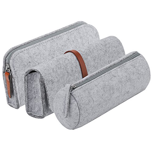 Pencil Case, COOFIT Pencil Pouch Pen Case Pencil Bag Pencil Cases for Adults 3 - Tampons Pack Case