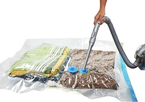 Amazon Jumbo Space Saver Vacuum Storage Bags Save On Compared To Ziploc Seal Excellent For Long Term Or Saving