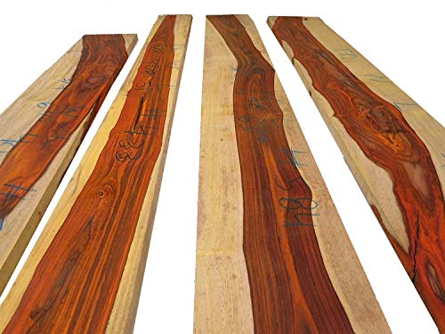 (3/4 inch Thick, Cocobolo Rosewood Boards with Some White Wood, kiln Dried)