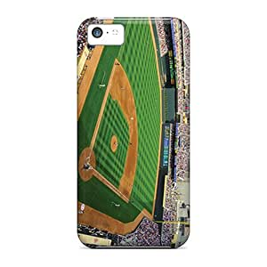 Shock Absorption Hard Phone Covers For Iphone 5c (DWC9345LXnX) Provide Private Custom Fashion Minnesota Twins Pictures