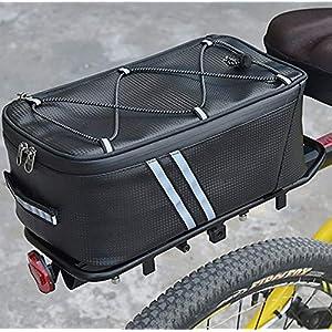 Dandelionsky Borsa Bicicletta Posteriore Portapacchi Impermeabile Borsa per Bicicletta Posteriore e Anteriore Borse… 3 spesavip