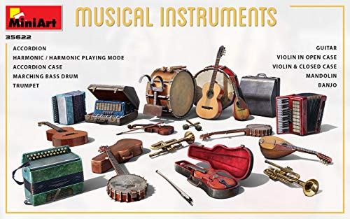 MiniArt 35622 - 1/35 - Musical Instruments 2