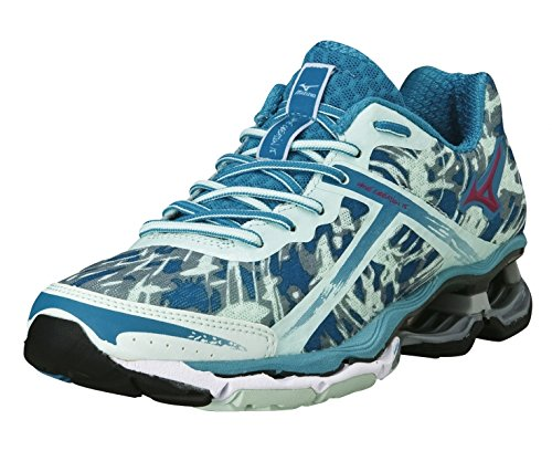 Blau Creation Laufschuhe AW14 Damen 15 Mizuno Wave xqfRnCYRz