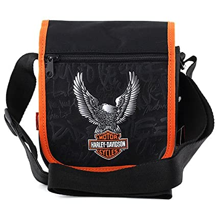 Exclusiv Harley Davidson sac à bandoulière sac de sport sac de voyage 21x18cm tpEblYQQF