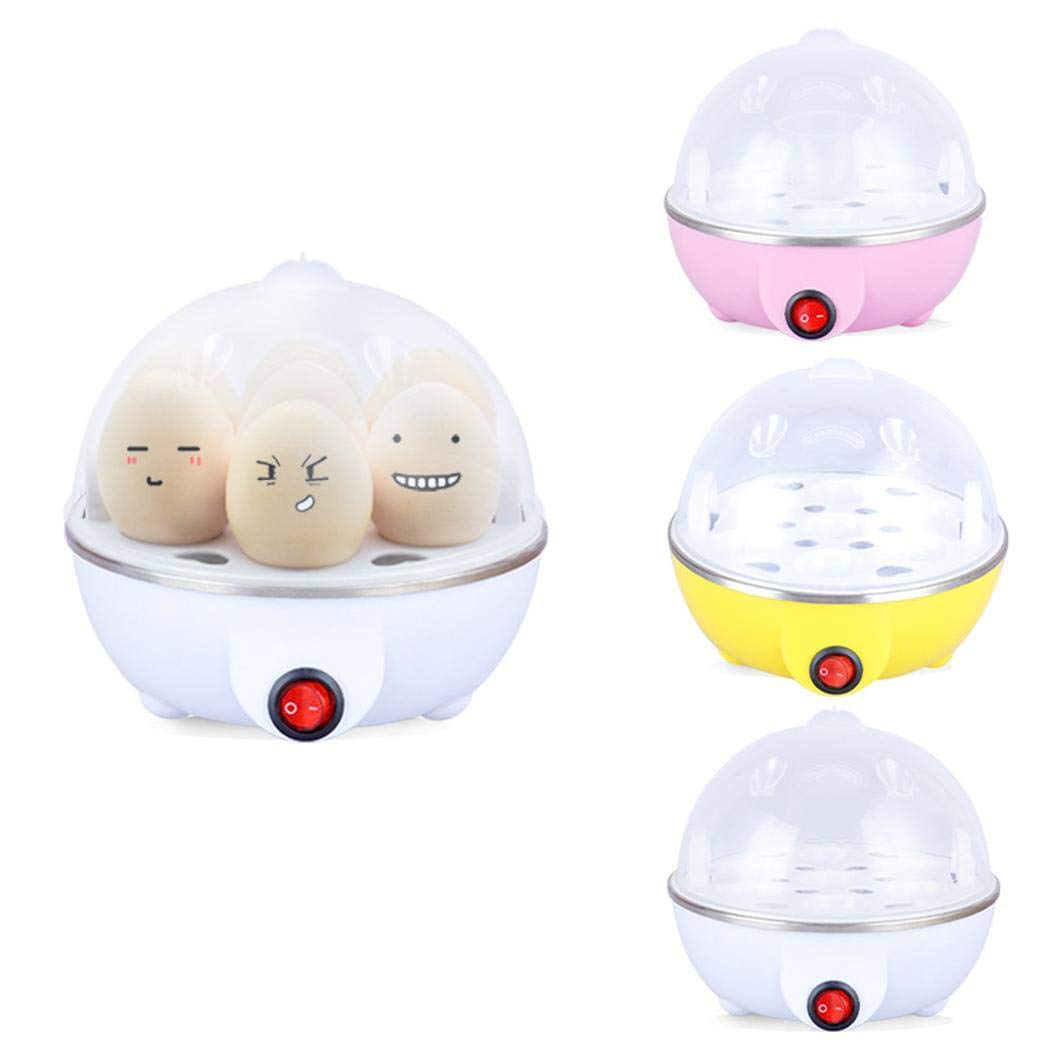 Pinsparkle Water Shortage Protection 220/110V Electric Heating Steamer Egg Cooker Egg Cookers by Pinsparkle (Image #2)