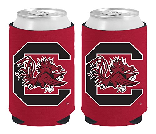 Fighting Gamecocks Magnetic Kolder Kaddy, 2-Pack, Red (South Carolina Gamecocks Magnet)