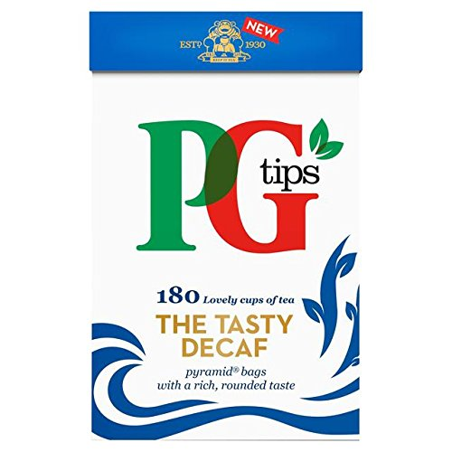 Pg Tips Bags Decaf Tea - PG tips Decaf Pyramid Teabags - 160 per pack