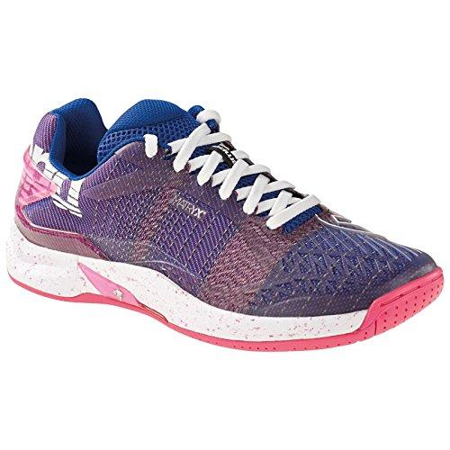 Kempa Attack One Women Contender, Zapatillas de Balonmano para Mujer, (Morado Eléctrico/Fucsia/B 000), 44.5 EU: Amazon.es: Zapatos y complementos