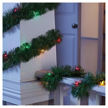 Philips Pre-Lit Garland - Multi Lights (18')