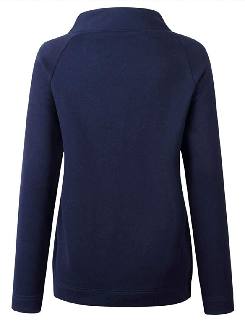 YONGM Womens Fashion Casual T-Shirt Sweatshirt Tops Blouse Long Sleeve Button Tunic