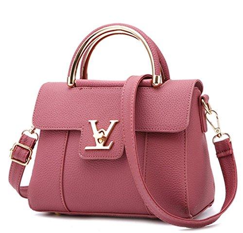 Designer Luxury Handbags (Fake Designer Bags V Women's Luxury Leather Clutch Bag Ladies Handbags Brand Women Messenger Bags Sac A Main Femme Handle 2)