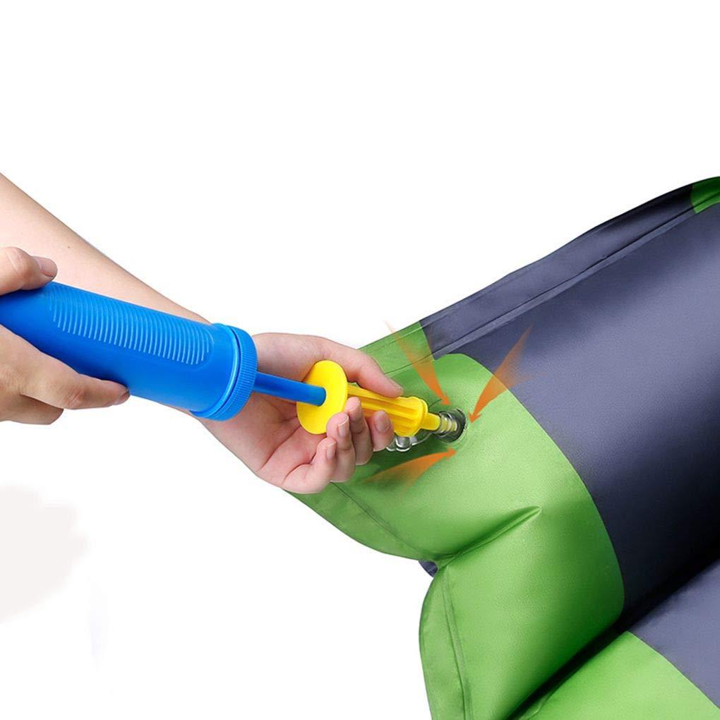 Mengonee Empujar la Bomba Mini port/átil de Mano para la Herramienta de la Bomba para inflar Viaje en Globo Mat al Aire Libre Aire Almohada de excursi/ón Que acampa del Aire