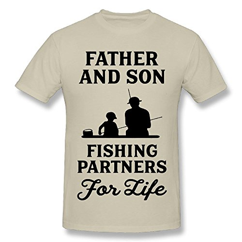 cc6b33f2 Lica Geek Father and Son Fishing Partners for Life T Shirt for Mens