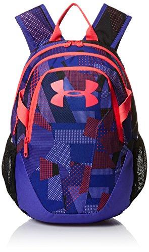 - Under Armour Unisex Kids' Medium Fry Backpack, White (101)/Penta Pink, One Size