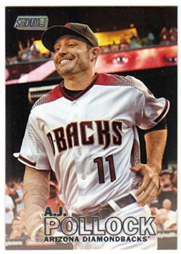 2016 Topps Stadium Club Baseball #264 A.J. Pollock Arizona Diamondbacks
