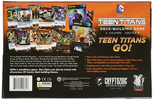 [해외]DC 만화 덱 빌딩 게임 : 십대 타이탄스/DC Comics Deck-Building Game: Teen Titans