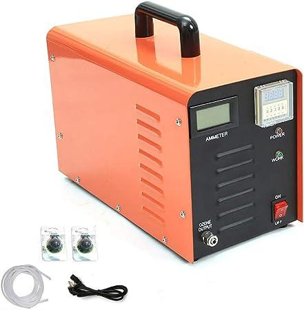 Oz3 Generador de ozono Comercial 5000 MG de Alta Capacidad Fuerza ...