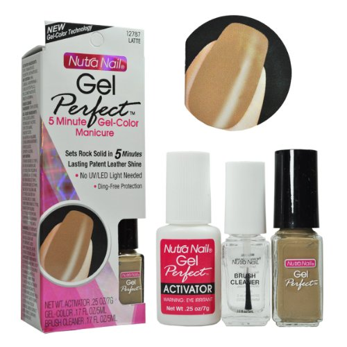 Nutra Nail 12787 Latte Perfect Color 0.25oz ()