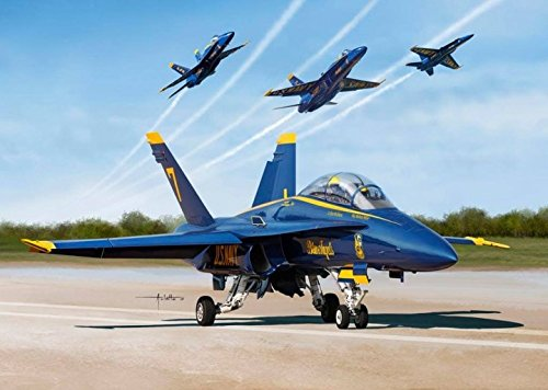 Kinetic Model Kits 1/48 BLUE ANGELS 2017 F/A-18A/B/C/D K48073