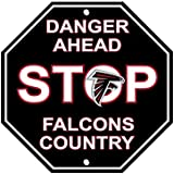 Atlanta Falcons Stop Sign