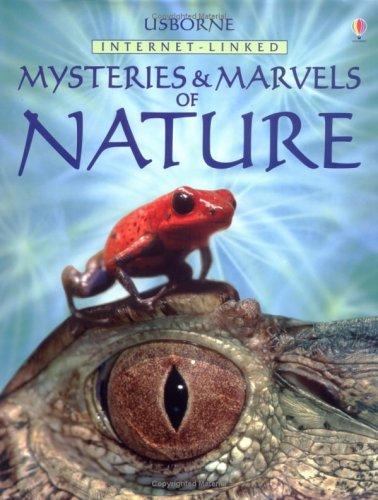 Download Usborne Internet-Linked Mysteries and Marvels of Nature PDF